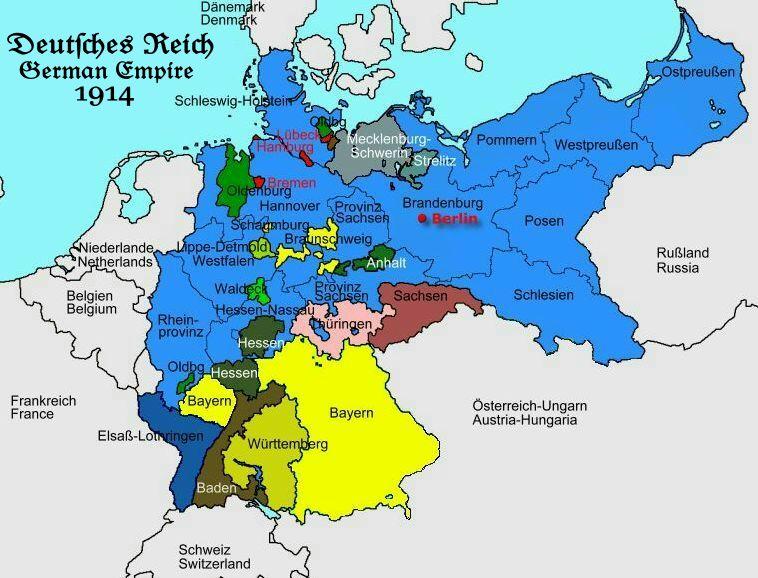 Deutsches Reich Karte.Deutsches Reich 1871 1914